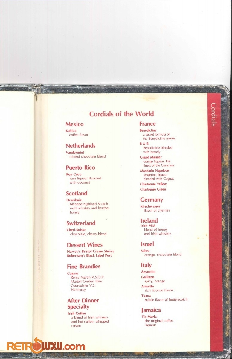 Top of the World Menu - 1980 - Page 5