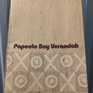 Papeete Bay Verandah Menu Cover