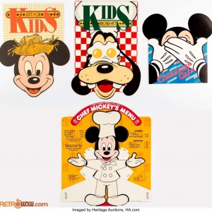 Menus  Walt Disney World