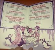 1900 Park Faire Childrens Drink Menu (1989)