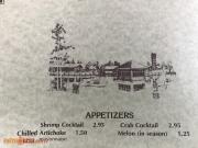 Village Restaurant Menu 1976 -5