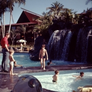 Polynesian Main Pool Early 1972