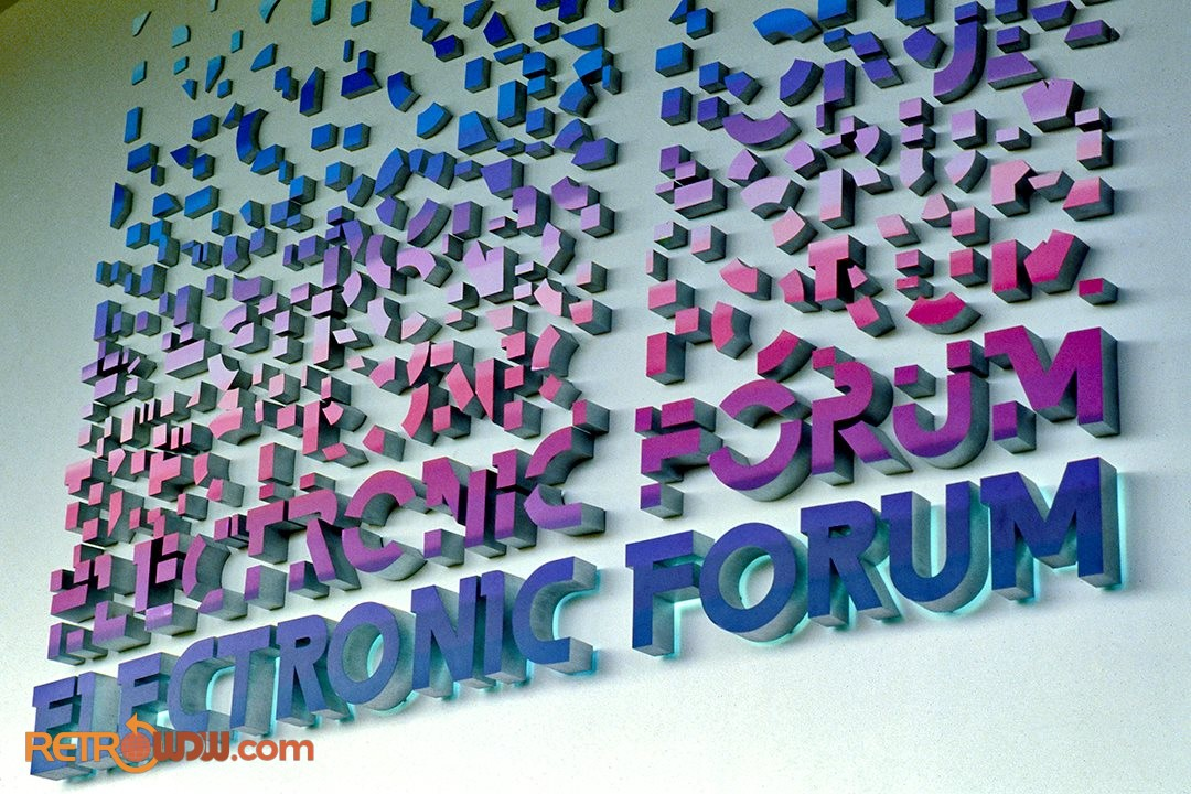 Electronic Forum Sign