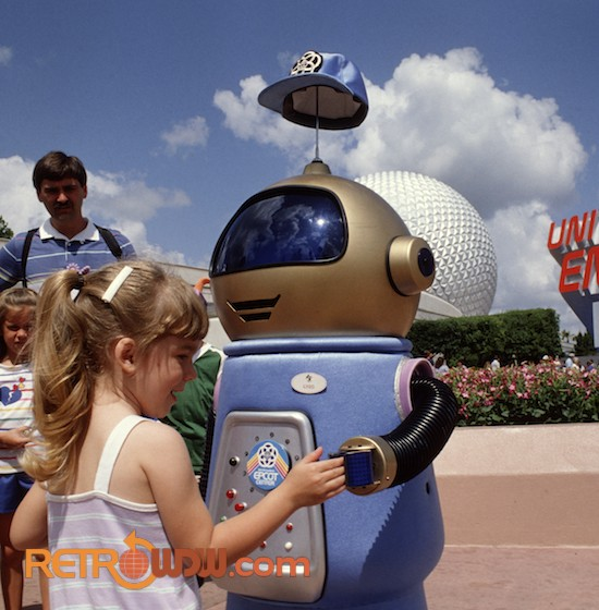 Gyro in EPCOT in 1985