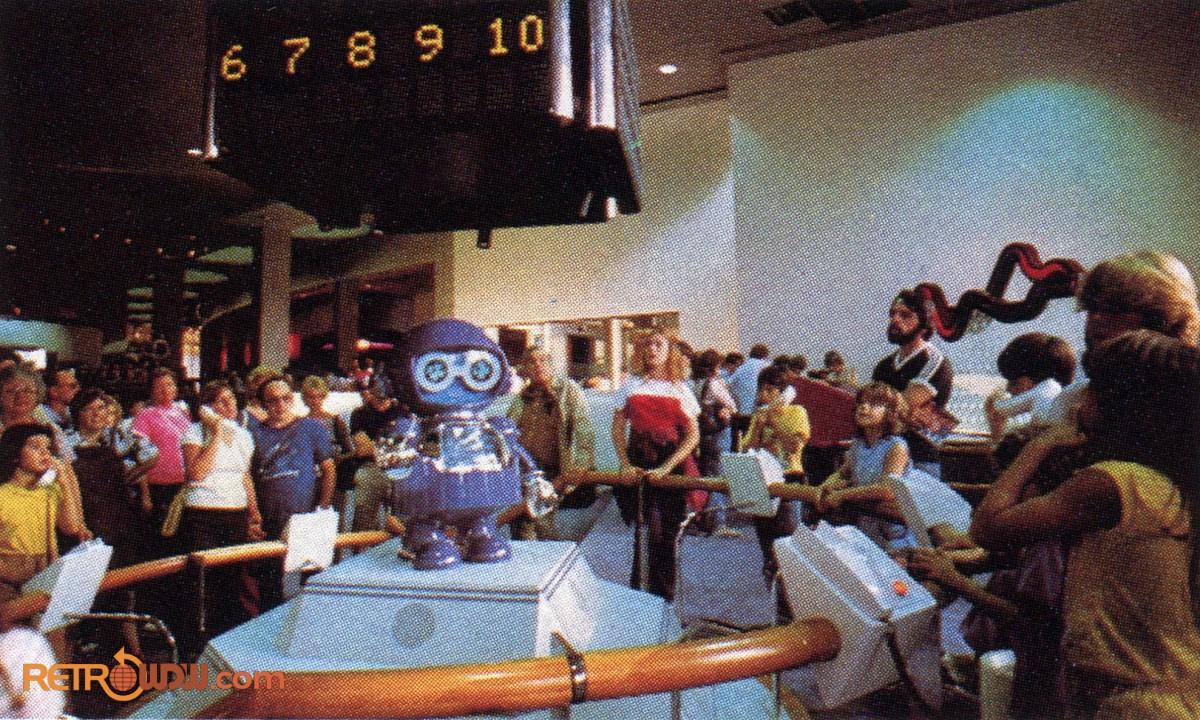 SMRT-1 at Communicore, 1983