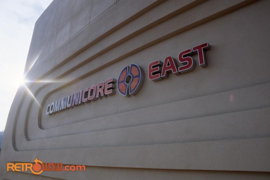 Communicore East Sign