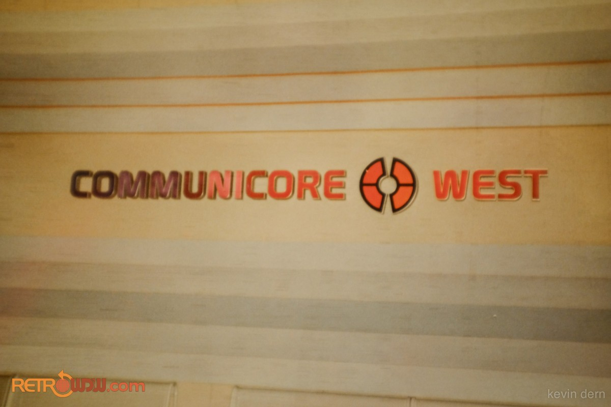 Communicore West Sign