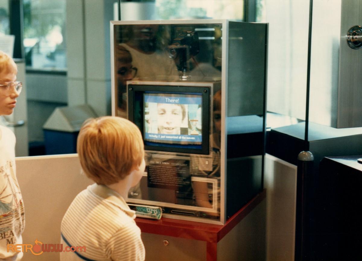 """Scramble Faces"" Interactive Electronic Display"
