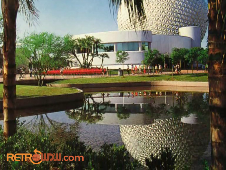 Earth Station and Spaceship Earth
