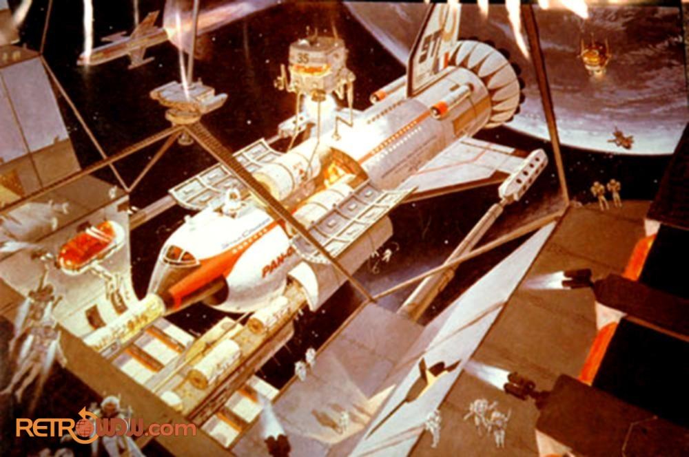 Robert McCall Brava Centauri concept art for Horizons