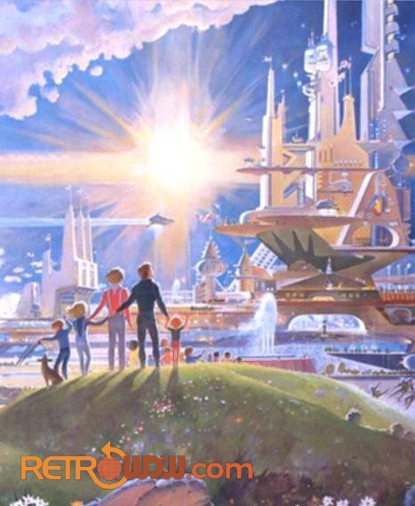 "Closeup of Horizons Mural - ""The Prologue and the Promise"""