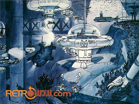 Early study concept art for Sea Castle