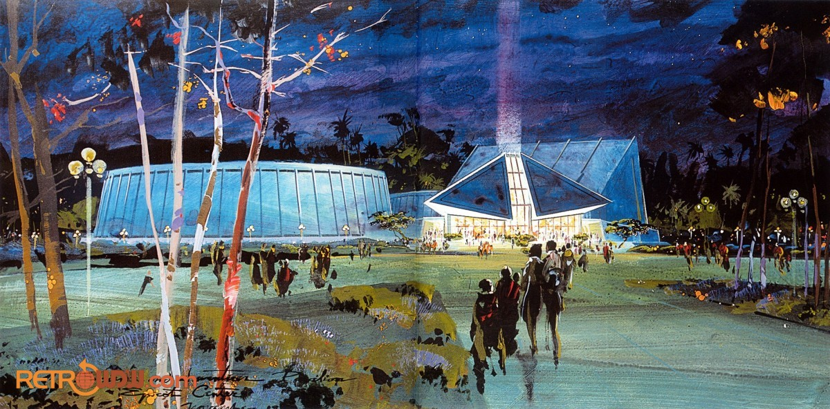 Early Science and Technology pavilion concept art