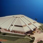 Horizons pavilion model