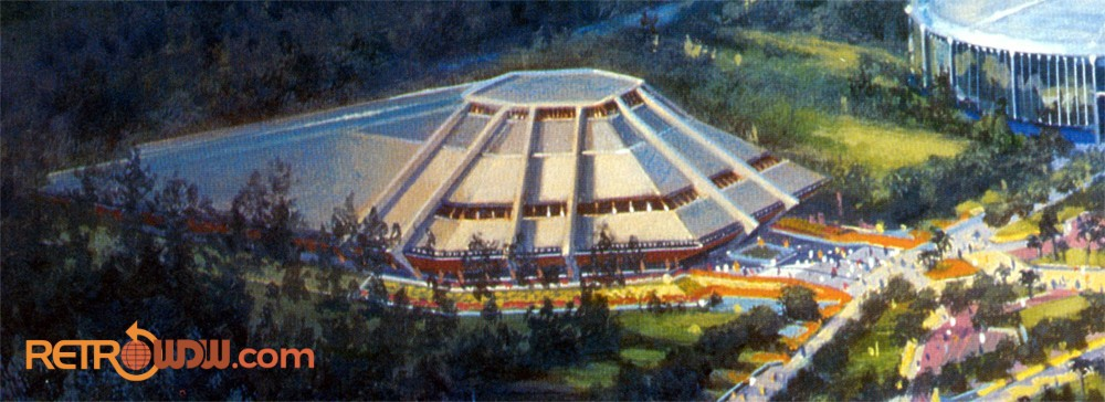 Horizons from the main EPCOT Center concept painting