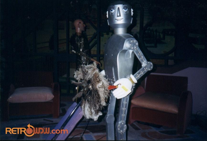 A Happy Robot Servant