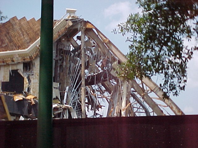 Horizons Demolition (Rear of Building)