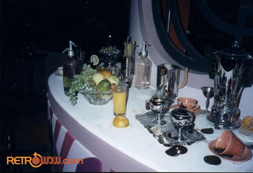 Closeup of the Countertop in the Art Deco Scene