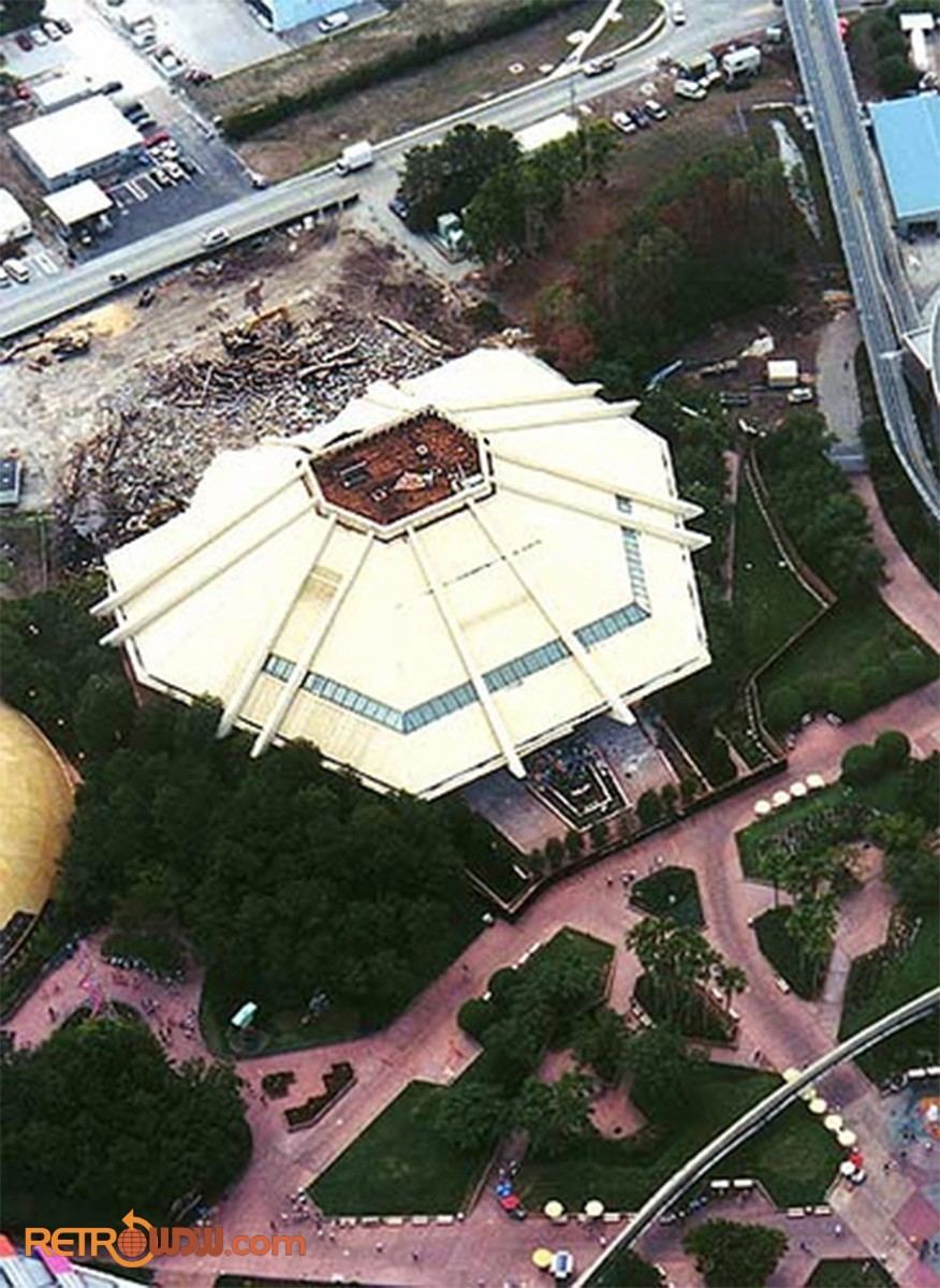 Horizons Demolition as Seen From the Air