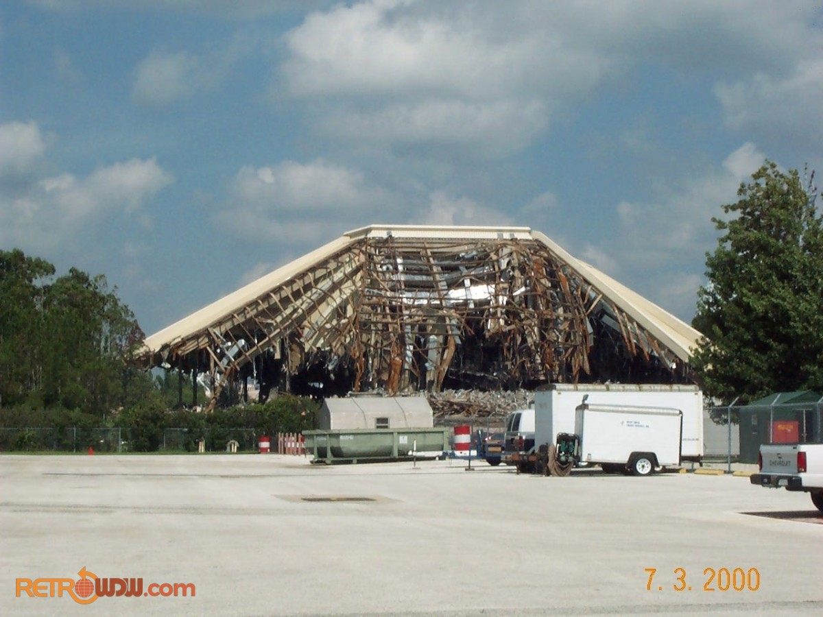 Horizons Demolition (from backstage)