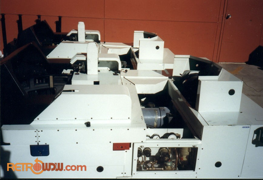 Closeup of the Omnimax Projectors Removed from the Building
