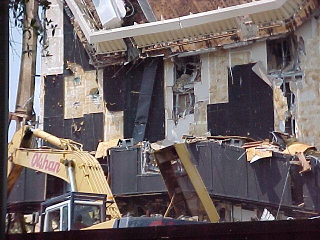 Horizons Demolition - Omnimax Projection room