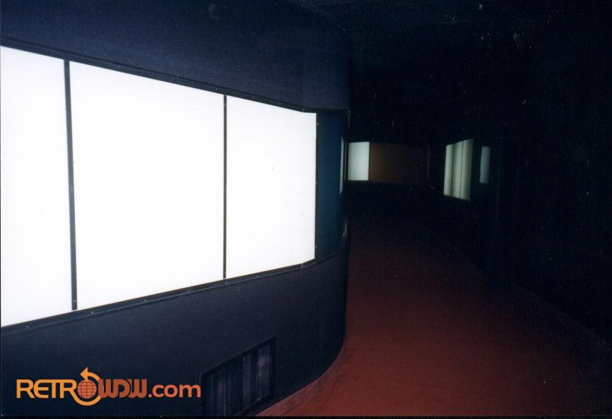 The Secret Hallway to the GE VIP Lounge