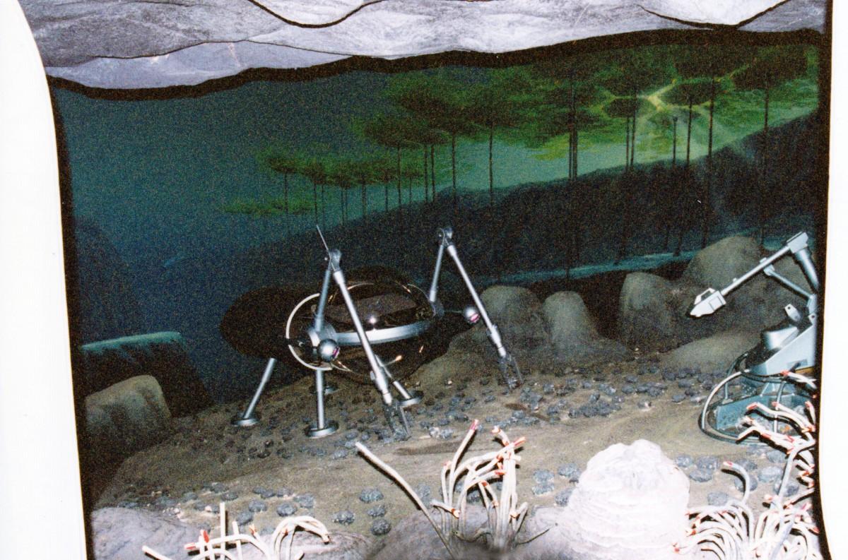 Undersea Farming - Kelp Harvester