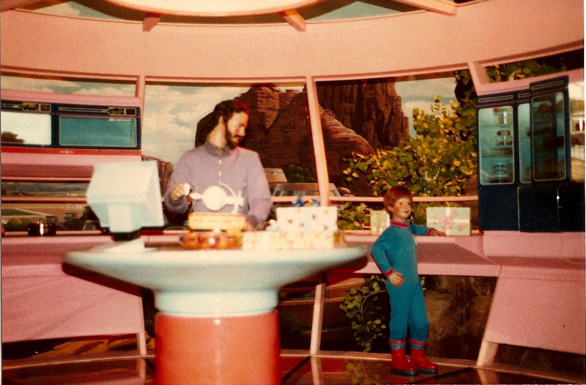 Desert Kitchen Scene