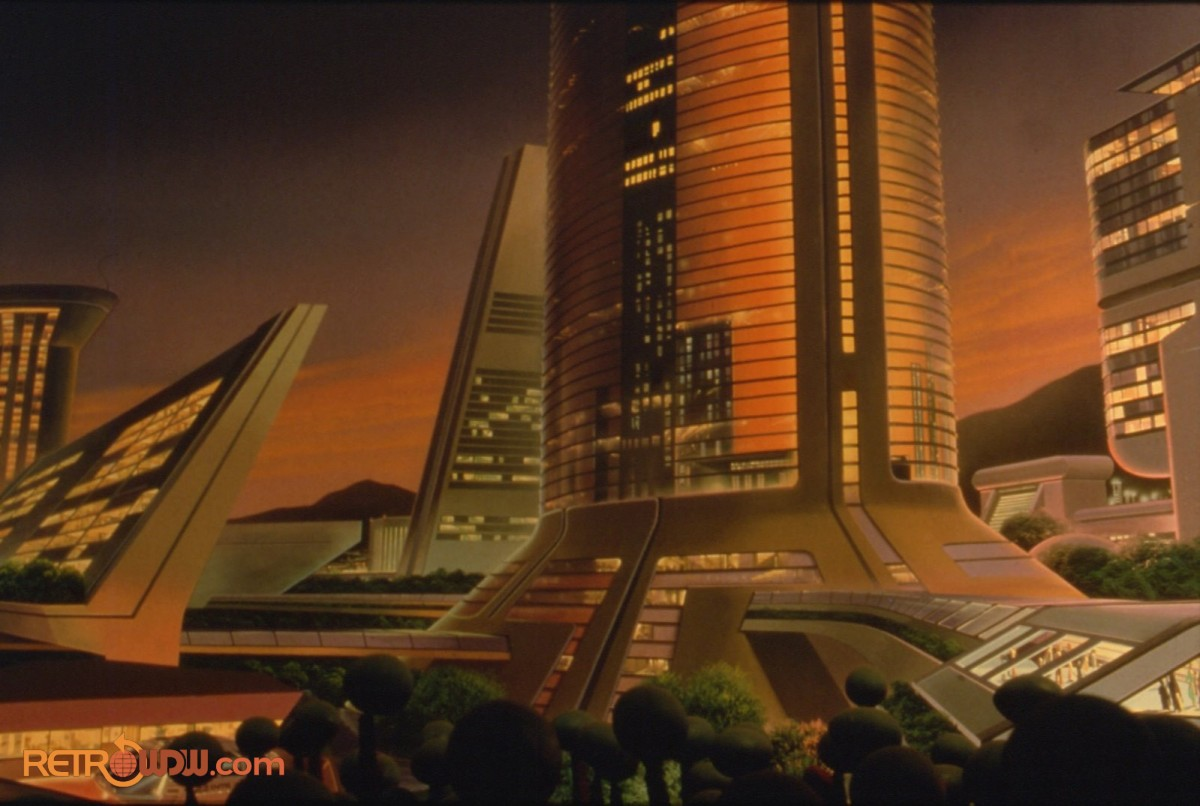 Background artwork in the Nova Cite Apartment Scene