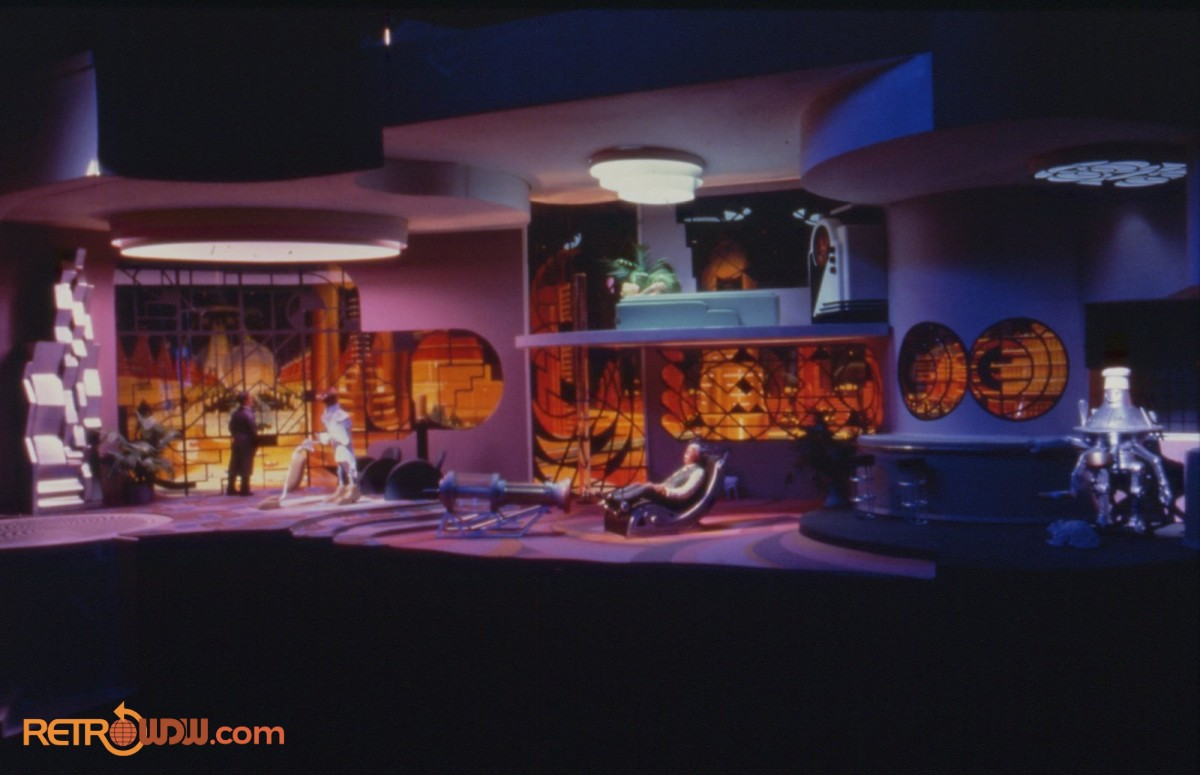 Imagineering Model of the Art Deco Scene
