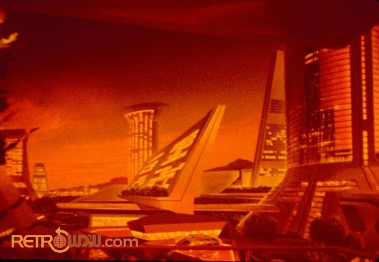 Background artwork in the Nova Cite Apartment Scene