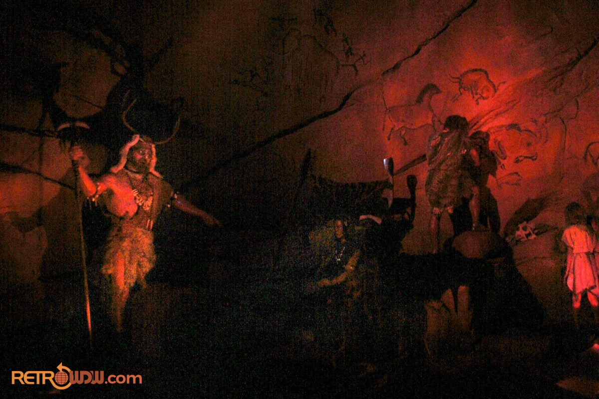 Cave Painting in Spaceship Earth