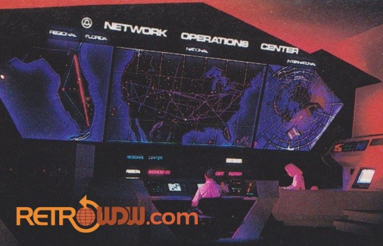 Network Operations Center - Spaceship Earth