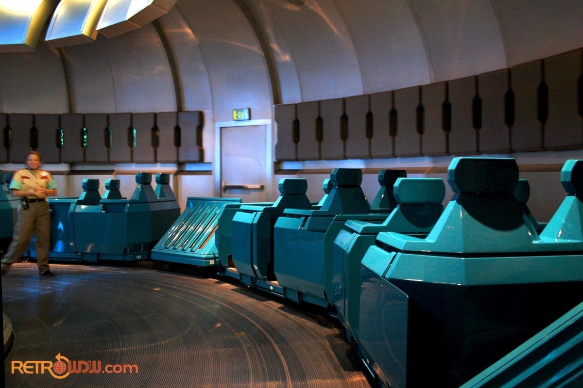Spaceship Earth Load Area