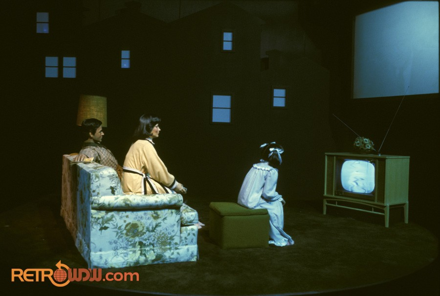 Television Scene - Spaceship Earth