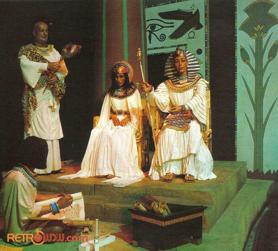 The Egyptians scene - Spaceship Earth