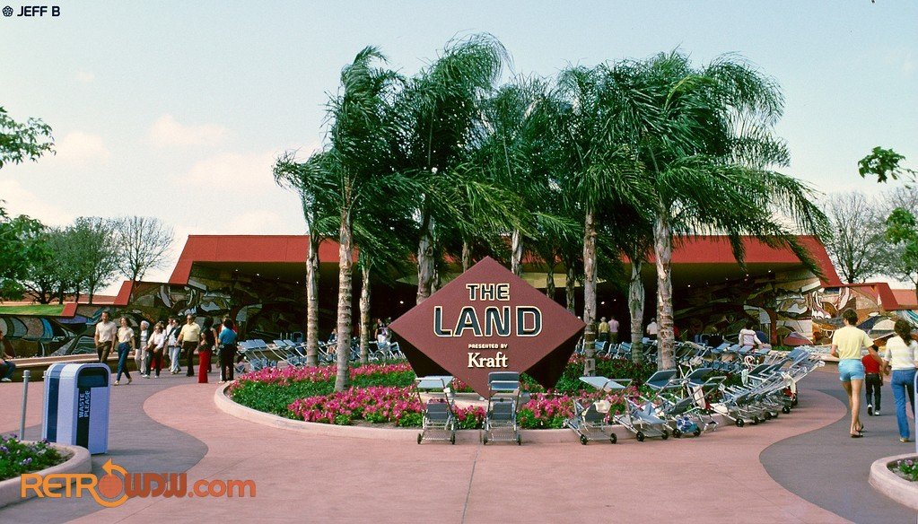 The Land Pavilion in 1983