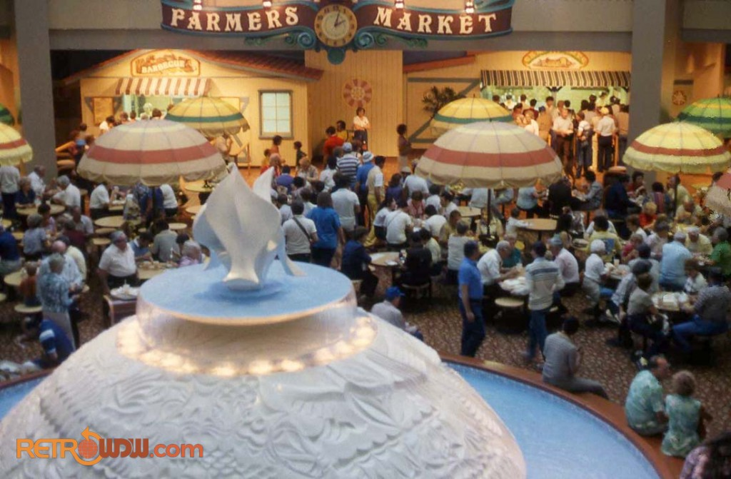 The Land Fountain & Farmers Market Eateries