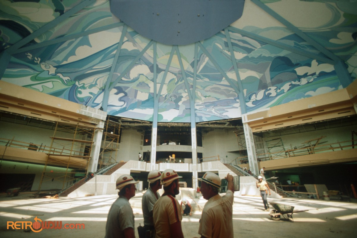 The Land Lobby Under Construction