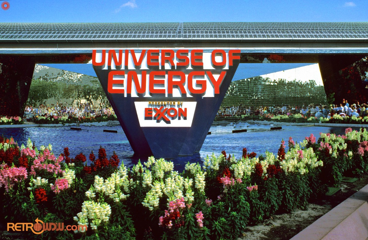 Original Universe of Energy Entrance Signage