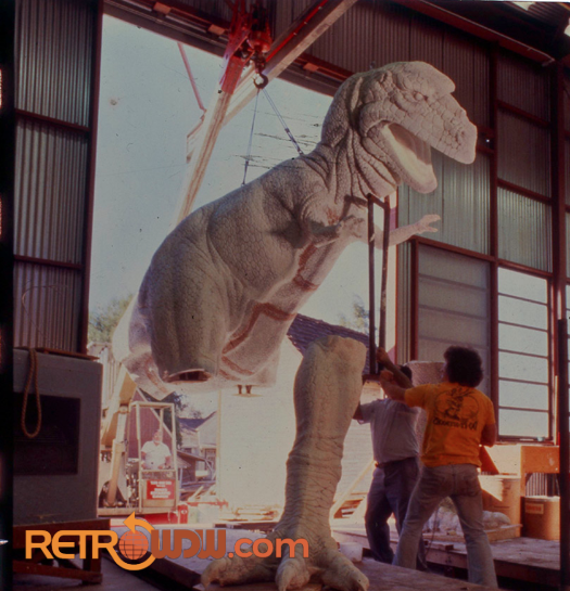 Universe of Energy T-Rex Being Assembled