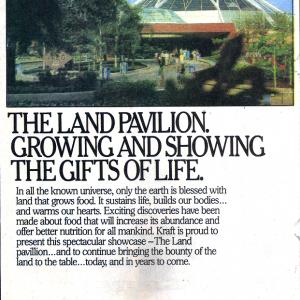 The Land Pavilion: Kraft Promo