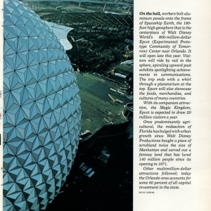 Advertisement in National Geographic  - Page 2