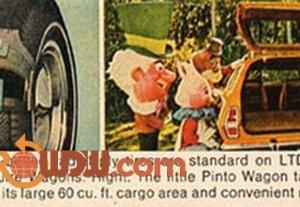 WDW Ford Wagons Magazine Ad