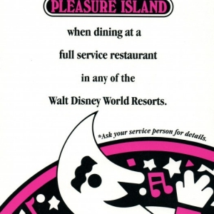 Pleasure Island Discount Information Sheet