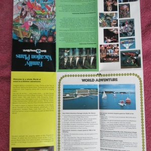 Family Vacation Plans Brochure - Inside Reverse