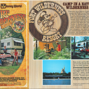 Fort Wilderness Brochure 10th Anniversary - Cover