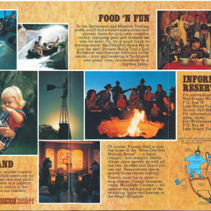 Fort Wilderness Brochure 10th Anniversary - Inside