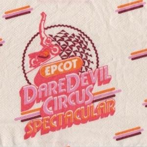Daredevil Circus Napkin